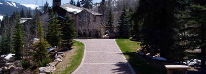 paver driveways in colorado